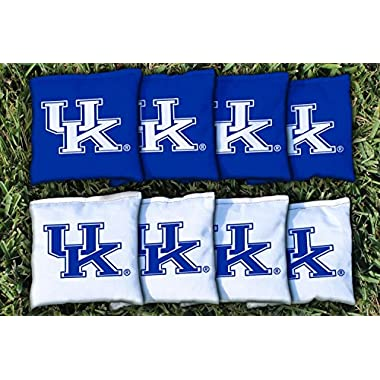 Kentucky UK Wildcats Replacement Cornhole Bag Set (corn filled)