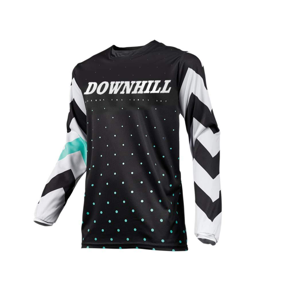 Uglyfrog Bike Wear Radsport Bekleidung Herren Herbst Style Long Sleeve Trikots & Shirts Radtrikot Fahrradtrikot Radshirt Fahrradshirts Fahrradbekleidung für Männer/Cool Downhill Jersey