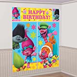 Arts & Crafts : TROLLS The Movie Scene Setter Photo Backdrop Poster Birthday Party Supplies