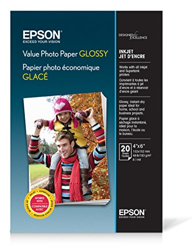 Epson Value Photo Paper Glossy, 4