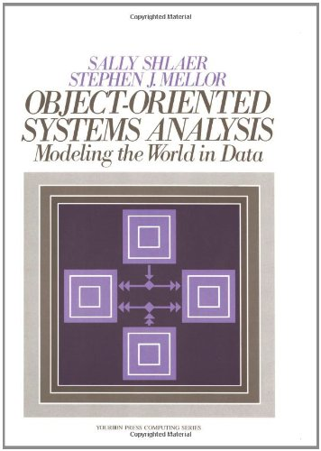 Object Oriented Systems Analysis: Modeling the World in Data by Prentice Hall