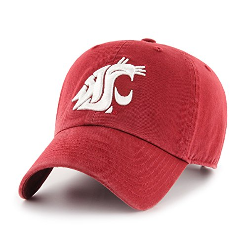 (OTS NCAA Adult Women's Challenger Adjustable Hat Washington State Cougars, One Size, Razor)