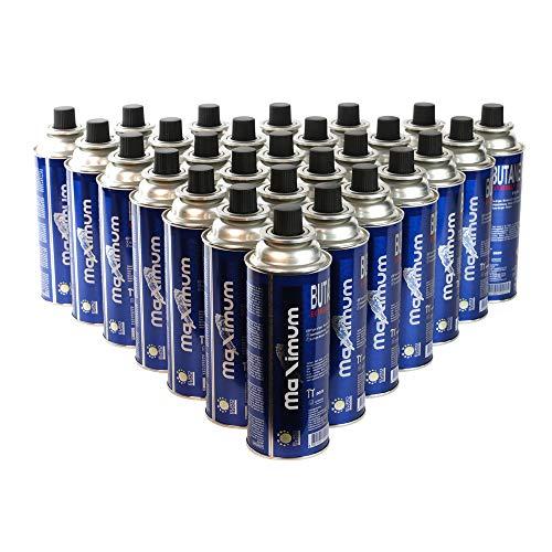28 x gaspatronen 227 g, MSF-1A butaangaspatroon voor: gaskoker, gasverwarming, gasbrander, soldeerbrander