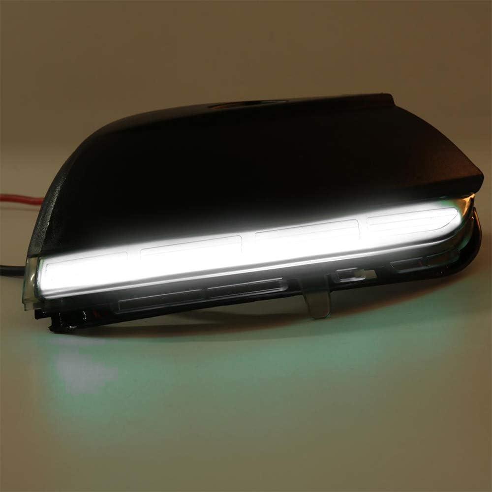 Paire de clignotants de r/étroviseurs /à LED dynamiques pour Scirocco EOS Passat B7
