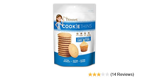 Amazon Mrs Thinsters Cookie Thin Cake Batter Pack Of 2