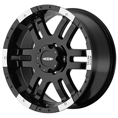Moto Metal Rims (Moto Metal Series MO951 Gloss Black Machined Wheel (16x8
