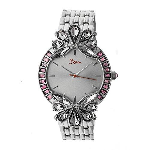 Boum Precieux Quartz Silver Bracelet Women's Watch (Women Watches Boum)