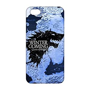 diy zhengCool-benz Winter map game of thrones 3D Phone Case for iphone 5c/