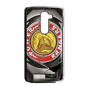 Power Rangers funda LG caja del teléfono celular G2 funda V6P4NGBGYW negro