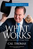 img - for What Works: Common Sense Solutions for a Stronger America book / textbook / text book