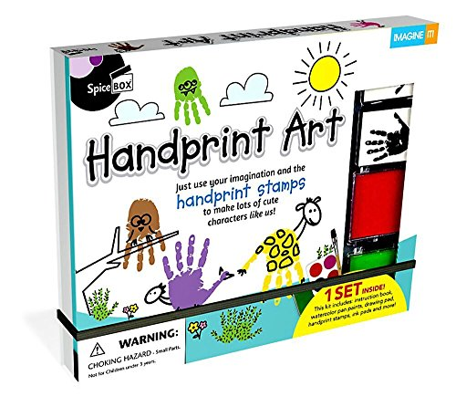 SpiceBox Handprint Art Kit -
