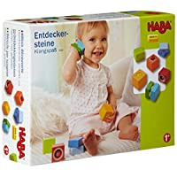 HABA Fun with Sounds Wooden Discovery Blocks with Acoustic Sounds (Made in Ge...