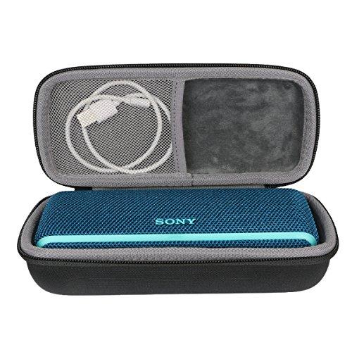 Hard EVA Travel Case for Sony SRS-XB21 Portable Wireless Bluetooth Speaker SRSXB21/B by co2crea (Black)