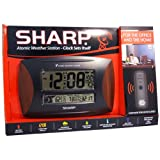 sharp atomic - Sharp 79051-1 Atomic Weather Station With Wood Accent