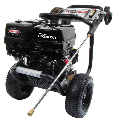 Black Gas Pressure Washer with high PSI.