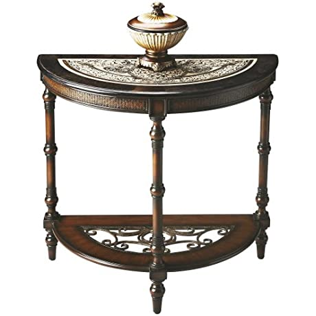 WOYBR 2970025 Demilune Console Table