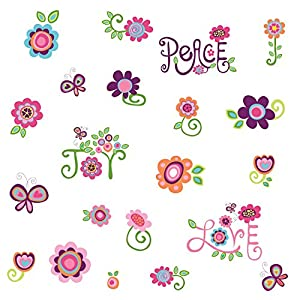 RoomMates Love, Joy, Peace Peel and Stick Wall Decals