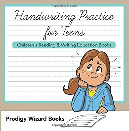 Book Handwriting Practice for Teens : Children's Reading & Writing Education Books by Prodigy Wizard Books (2016-03-22)