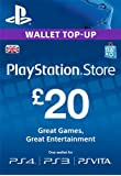 PlayStation PSN Card 20 GBP Wallet Top Up [PSN Download Code - UK account]
