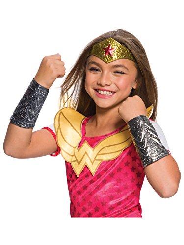 Rubies Costume DC Superhero Girls Wonder Woman Accessory Kit, One Size -
