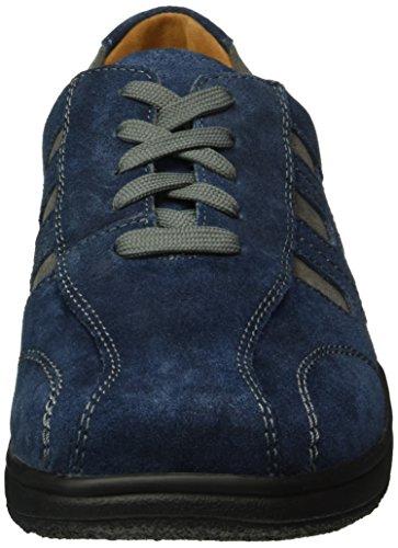Ganter Aktiv Heimo, Weite H, Sneakers Uomo Blu (Navy / Darkgrey 3166)