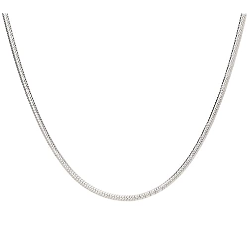 Solid Silver Chain Amazon Co Uk