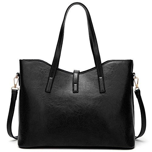 Womens Bags Tote Purses Designer Handbags Black Ladies Satchel Shoulder LoZoDo and Bag dF1vqdw
