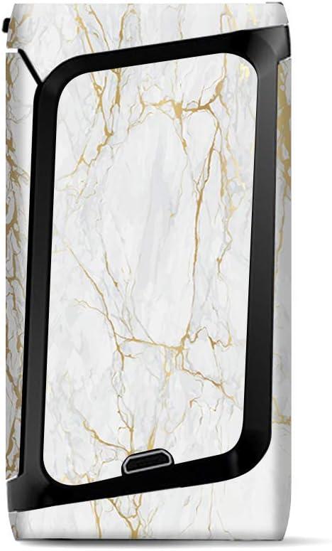 Skin Decal Vinyl Wrap for Smok Morph 219 Kit | Vape Stickers Skins Cover| Marble White Gold Flake Granite