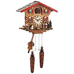Trenkle Quartz Cuckoo Clock Swiss house