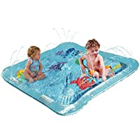 Kleeger Baby Wading Kiddie Pool: Outdoor Squirt & Splash Water Fun For Toddle...