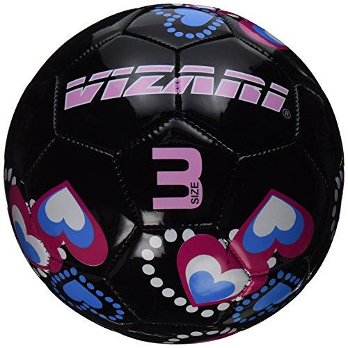 Vizari Retro Hearts Soccer Ball