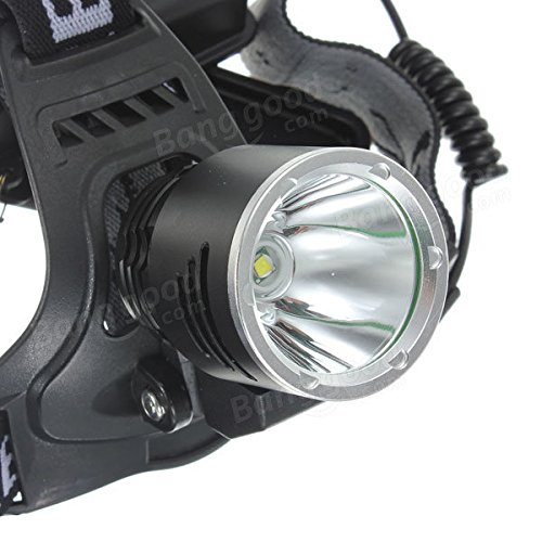 1600Lm XML T6 Rechargeable LED Headlamp 18650 A2 + AC Charger by Freelance Shop SportingGoods (Image #3)