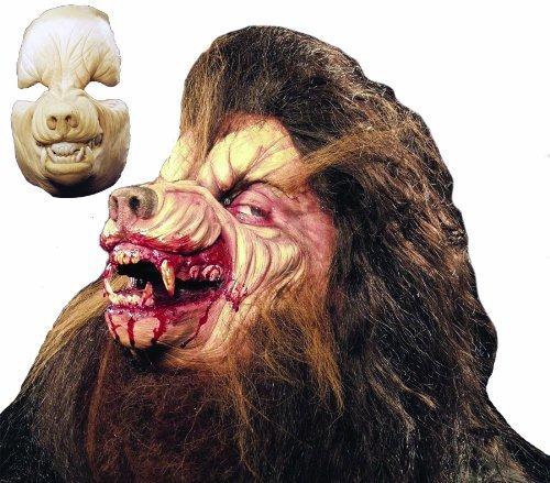 Halloween FX Prosthetic Werewolf Full Face]()