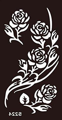 Body Plantillas Para Tatuaje Tattoo Temporalmente Colores Henna