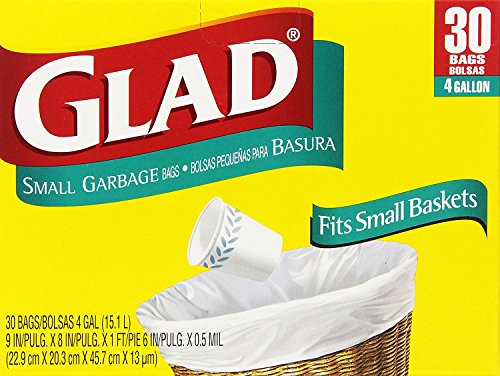 Glad Gal Small Garbage Bags product image