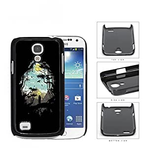 Jungle And Nomad Silhouette Hard Plastic Snap On Cell Phone Case Samsung Galaxy S4 SIV Mini I9190