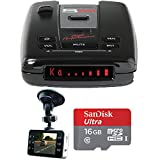 Escort Passport S55 High Performance Radar and Laser Detector with DSP with Bundle Includes, Xtreme Automotive HD DVR IR Night Vision HD Dash Camera w/ 2.4