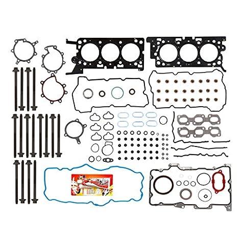 06-09 Ford Fusion Lincoln Mercury Milan 3.0 DOHC 24V VIN 1 Full Gasket Set Head Bolts - Dohc 24v Head Gasket
