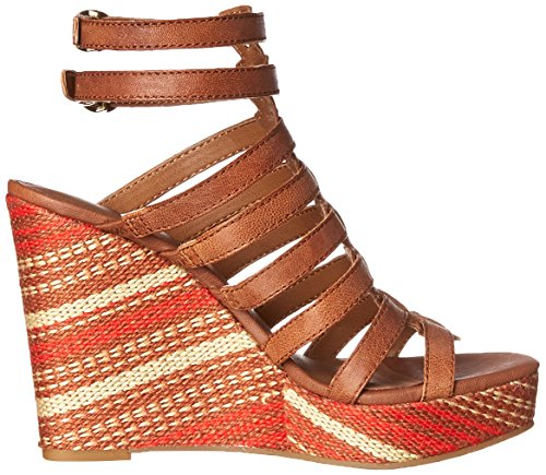 Combo Sandal Wedge Labelle Lucky Women's Almond 6q41w1