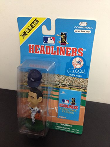 1998 Derek Jeter New York Yankees MLB Baseball Figure by Headliners with collectors -