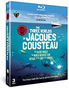 Three Worlds of Jacques Cousteau [Blu-ray]  [Import]