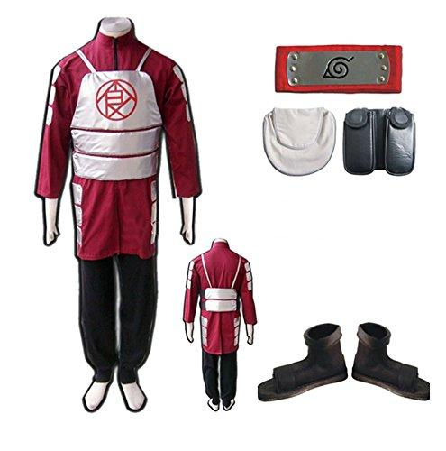 [LYLAS Naruto Akimichi Choji Full Cosplay Costume (XL)] (Choji Cosplay Costume)