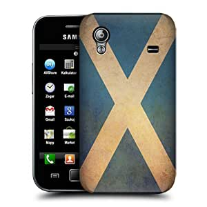 Head Case Designs Scotland Scottish Vintage Flags Protective Snap-on Hard Back Case Cover for Samsung Galaxy Ace S5830 by ruishername