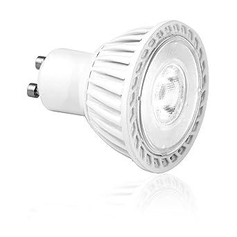 Aurora 6W GU10 LED Light Bulbs Warm White - Perfect Size Retrofit