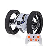 baiyi Robot Bouncing Car Gyro 4CH 2.4GHz High Speed 360-Degree Spin Remote Control Jumping Bounce RC Toy Car