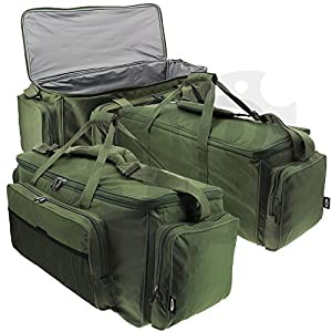 Large Green Fishing Hunting and Camping Insulated Waterproof Carryall Range Bag