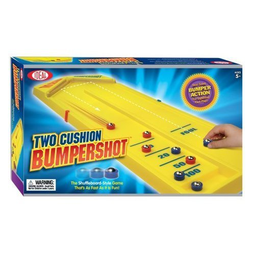 Ideal Two Cushion Bumpershot - Yellow