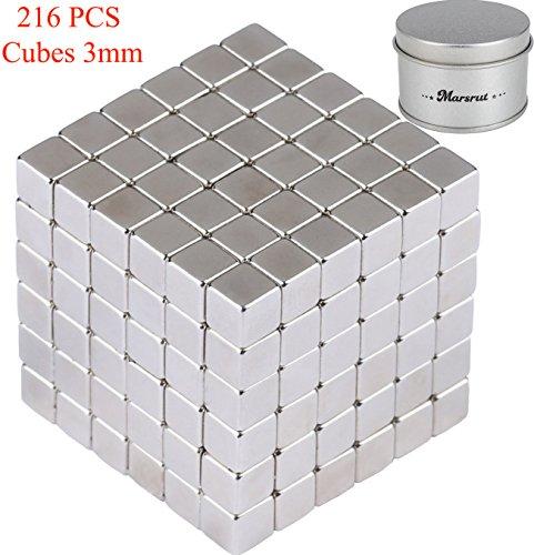216 PCS Magnetic Cubes Magnet Sculpture Stress Relief for Intelligence Development