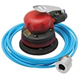 5 Inch Wet Orbital Air Palm Sander 9 Scfm Air Consumption, 90 PSI Working Air Pressure by Central Pneumatic Professional