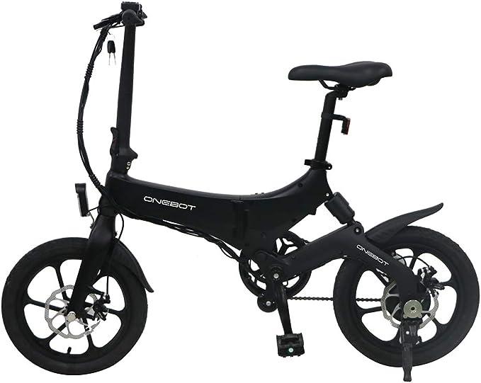 "ONEBOT 16"" E-Bike Bicicleta Electrica Plegables, Motor Bicicleta Plegable Bici Electricas eléctrica ebike Bici Electrica Urbana Ligera para Adulto: Amazon.es: Hogar"